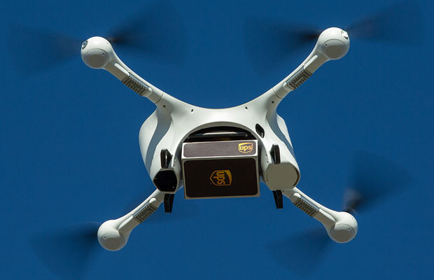 UPS Chalks Up Another Drone Delivery First